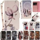 Leather Magnetic Flip Stand Card Slot Wallet Case Cover For Samsung Huawei iPhon