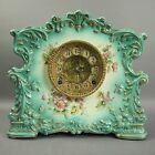 Antique Victorian Porcelain Mantel Clock