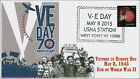 2015 V E Day West Point NY World War II Pictorial 15 331 KSC Cachets