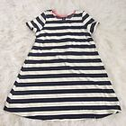 Womens Blue and White Striped Dress NWOT Boutique Beach Cruise Summer Nautical