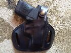Kahr P380 or CW380 Leather Holster Pancake Style OWB