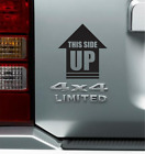 This Side Up Arrow Sticker Vinyl Decal 4x4 Rock Crawler Off Road Car Truck Jeep