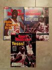 MICHAEL JORDAN  3 SPORTS ILLUSTRATED 1990'S BASKETBALL COVERS CHICAGO BULLS  L4