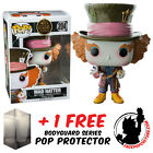 FUNKO POP DISNEY ALICE 2 LOOKING GLASS MAD HATTER EXCLUSIVE + FREE POP PROTECTOR