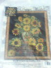 Design Works Crafts SUNFLOWER VASE Counted Cross Stitch Kit FLOWERS PEACOCK