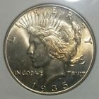 1935 MS 63 Peace Dollar Semi Key Date