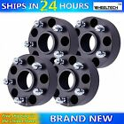 4 2 5x5 Hubcentric Black Wheel Spacers 1 2 x20 For Jeep Wrangler JK