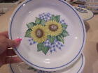 Corelle Sunflower Sunsations  8 luncheon plates great condition
