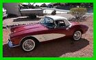 Chevrolet Corvette 2 Door Convertible Soft top Built for Reliability 1961 Chevrolet Corvette Convertible 350 V8 4 speed Manual Soft top Coupe