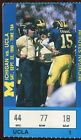 Ticket College Football Michigan 1990 9 22 UCLA