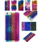 Hot Bling Dynamic Liquid Rainbow Glitter Quicksand Soft TPU Case Cover For phone