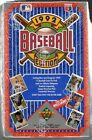 1992 Upper Deck Baseball Low Series Foil Sealed Unopened Box
