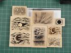 Stampscapes Rubber Stamps New Overstock Sky Stamps