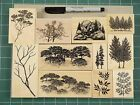 Stampscapes Rubber Stamps New Overstock Tree and Foliage Stamps