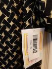 Lularoe Irma XL Extra Large NWT Navy Blue  Tan basketweave