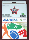 Slice Design Card All Star 36486 NEW Ms+ by Making Memories Sports