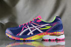 NEW WOMENS ASICS GEL FLUX 3 RUNNING SHOES MULTI COLOR SIZE 8
