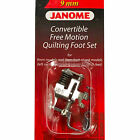 Janome Convertible Free Motion Quilting Foot Set #202146001 For 9mm / 7mm Models