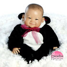Lifelike Realistic Asian Newborn Weighted Baby Girls Doll Su Lin Alive Reborn
