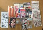 scrapbooking sticker lot thickers creative imaginations embellishments rub on