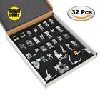 Professional Domestic 32 PCS Sewing Foot Presser foot Presser Feet Set for Singe