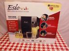 Esio Hot and Cold Beverage Maker Black and Chrome Countertop Model CB1001