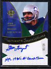 2009 UD ULTIMATE INSCRIPTIONS STEVE LARGENT AUTO 1 20 NFL 1980'S ALL DECADE TEAM
