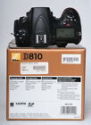 NIKON D810 USA BODY ONLY WITH ALL THAT CAME WITH IT WHEN NEW