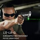 Rechargeable Mini Compact GREEN Laser for Full size hand gun sub compact pistol
