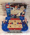 Lego 3433 Ultimate Arena 2003 NBA Basketball Court Complete Minifigs Manual Box