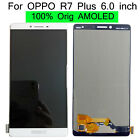 Original For OPPO R7 Plus 6.0 inch LCD Display Touch Screen Digitizer +3M White