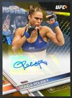 2017 Topps UFC Chrome Fighter Autographs Gold Refractor Ronda Rousey AUTO 23 25