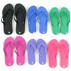 Wholesale Womens Flip Flops Bright Assorted Colors Lot of 48
