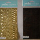 NEW 10 pc LASER CUT BORDERS Black or Gold Your Choice Scroll Filagree JOLEES