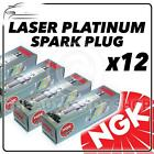 12x NGK SPARK PLUGS Part Number PFR6E-10 Stock No. 3688 New Platinum SPARKPLUGS