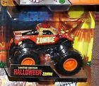 Hot Wheels Monster Jam Zombie Halloween limited 1 of 5000 glows in dark