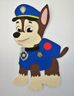 Paw Patrol Chase Cardtock Paper Piecing Die Cut Scrapbook Embellishment