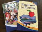 NEW ABeka Book lot grade 1 3 Homeschool Handbook for Reading Primary Bible Read