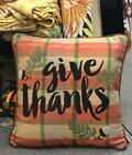 18 x 18 Give Thanks Pillow