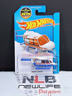 2013 Hot Wheels HW City Propper Chopper WhiteBlue Helicopter WITH ERROR