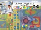 Deluxe Page Planes and Trains Scrapbooking Kit