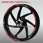 Ducati Monster 696 796 1200 wheel decals stickers rim stripes Laminated 797 821