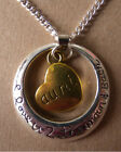 GORGEOUS 'I LOVE U2 THE MOON AND BACK' AUNT ECKLACE WITH FREE GIFT BAG