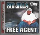 Ric Jilla - Free Agent * OG PRESS! * 2004 * Indiana * NOT a CD-R! * RARE