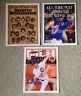 Chicago Cubs Sports Illustrated Cover Reprints Bryant, Rizzo, And 2016 Champs