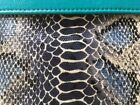 Shiraleah Stunning Faux Snake Skin Fold Over Clutch Purse Exquisite Colors