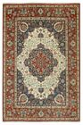 Natural Wool Low Price Rugs Made by hand Carpet 9' x 12' Serapi Ivory Rug