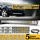 42Inch LED Light Bar 1976W OSRAM Combo OFFROAD Tri-Row Lamp SUV ATV 4WD For Jeep