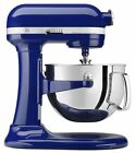 NEW Kitchen Aid 6 Qt Stand Mixer Professional 600 Series w Bowl Beater Hook Blue