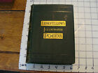 Vintage book POEMS OF HENRY WADSWORTH LONGFELLOW 1882 w numerous illustration